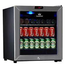 38 Can Compressor Mini Bar Fridge (Stainless Steel Silver)