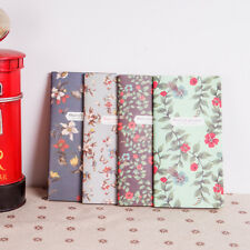 Vintage Flower Supplies Retro Notepad  Kraft paper 1Pcs Notebook Mini Book