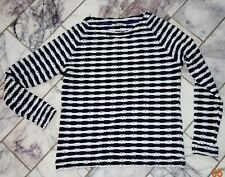 RICH & ROYAL -  hauchzartes Viskosemix Shirt - Gr. Small - mit Lochmuster