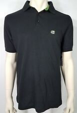 NWT Billabong black slim fit short sleeve casual polo shirt mens Medium