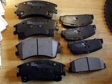Front & rear Brake pads, Mazda 6 2.0i 2.3i 2.0DT, 02-07, 282mm discs, 8 pad set