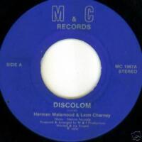 Herman Malamood & Leon Charney 1978 JEWISH DISCO 45 on M&C Records Label HEAR IT