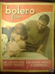 CELENTANO BOLERO FILM 4 APRILE 1965 N°935 ANNO XIX