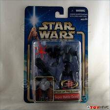 Star Wars AOTC Super Battle Droid figure attack of the clones exploding feature