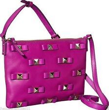 NWT KATE SPADE Ginnie Bow Terrace Crossbody Bag Purse  $278 Rose Pink Leather