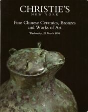 CHRISTIE'S Chinese Ceramics Bronzes Furniture Snuff Bottles WOA Catalog 1998