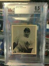 1948 Bowman #8 Phil Rizzuto HOF New York Yankees RC Rookie ~ BVG 8.5 !!! NM-MT+