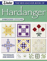 The New Anchor Book of Hardanger Embroidery Stitches-ExLibrary
