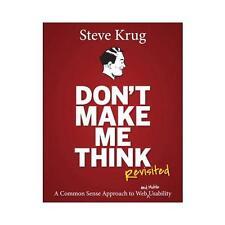 Don't Make Me Think, Revisited by Steve Krug
