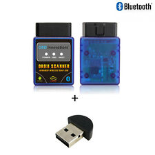 OBD Innovations® ELM327 Bluetooth OBD2 Scanner + Bluetooth v2.0 USB Dongle