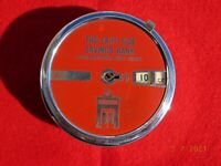 """VINTAGE 4 1/8"""" ACROSS EAST SIDE SAVINGS BANK ROCHESTER NY ADD A BANK RED"""
