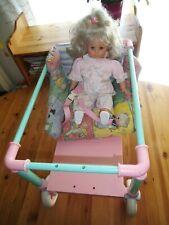 Puppe +Rödental Zapf Creation Baby Puppenwagen Puppenbett