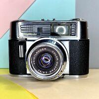 Voigtlander Vitomatic IIb with Color Skopar 2.8 50mm lens, & case Lomo Retro