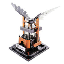 3D Metal Puzzle Education Kid Toy Mechanical Eagle Robotic Figure Model Kit