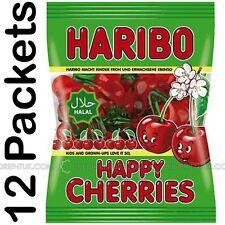 12x Haribo Happy Cherries Halal Sweets 80g Box of 12 Discount for Big Orders