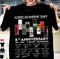 American Horror Story 8th Anniversary 2011-2019 Black T Shirt, Best Gift.