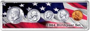 Birth Year Coin Gift Set, 1964