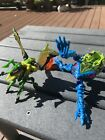 Two Transformers Beast Wars transmetal Spittor And buzzclaw