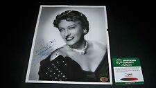 GLORIA SWANSON AUTOGRAPHED W/ COA VINTAGE 8X10 PHOTO 1959 SIGNED
