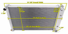4 Row All Aluminum Performance Radiator For 1970 - 88 Chevy/GM Cars