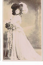 Miss Grace Lane Theatre Actress Faulkner & Co Silverprint series Postcard