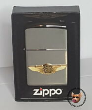 HARLEY-DAVIDSON® 110TH ANNIVERSARY 3D WINGS BLACK ICE ZIPPO LIGHTER MADE IN USA