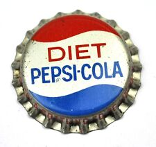 Vintage diet pepsi cola tapita corcho junta estados unidos soda bottle Cap