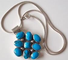 Turquoise Silver Vintage Fine Jewellery