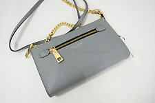 MARC By Marc Jacobs M0010153 Gotham Leather Small Shoulder/Crossbody Bag Dolphin