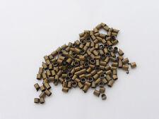 500 X latón Tubo Crimp Perlas 2 Mm X 1,2 Mm Antiguo De Bronce, Nf, los resultados (mbx0054)