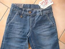 "(188) Coole Imps & Elfs Girls Jeans Hose ""Employee"" slim fit flared leg gr.116"