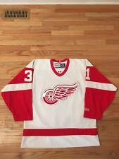 Curtis Joseph Detroit Red Wings NHL Vintage Authentic CCM Jersey Adult Size M
