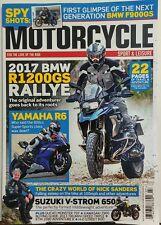 Motorcycle Sport & Leisure UK July 2017 BMW R1200GS Rallye FREE SHIPPING sb