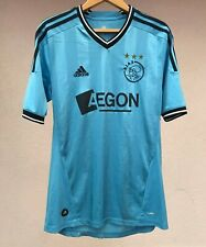 AJAX AMSTERDAM 2011/2012 AWAY FOOTBALL SOCCER SHIRT JERSEY CAMISETA ADIDAS RARE
