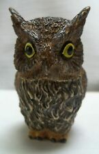 Screech Owl Harmony Ball  Pot Belly