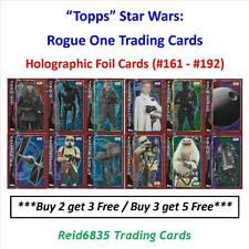 """Topps"" Star Wars: Rogue One Trading Cards - Holographic Foil Cards (#161 - 192)"