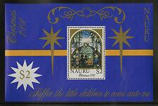 Nauru   1991   Scott # 395    Mint Never Hinged Souvenir Sheet