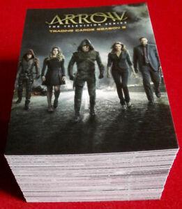 ARROW - Season 3 - Complete Base Set (81 cards) - Cryptozoic