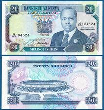 KENIA / KENYA 20 Shillings 1991 UNC  P.25 d