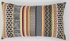 Handmade Tribal Orange, black & brown Tapestry Home Decor Cushion Cover  50x30