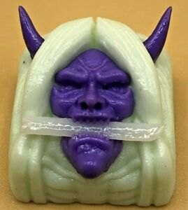 Drop B.O.B Handcraft Yasha Artisan Keycap - Murasakino/Takoizu - Purple on White