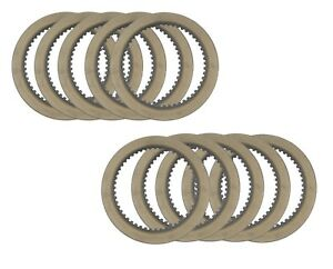 Clark 230911 Replacement Ten Pack Bronze Friction Clutch Disc