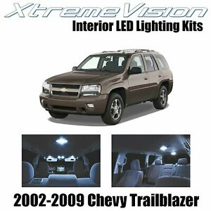 XtremeVision Interior LED for Chevy Trailblazer 2002-2009 (16 PCS) Cool White
