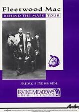 Fleetwood Mac Irvine Meadows 1990 Poster
