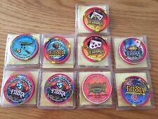 Lot of Fiesta Casino Chips and Tokens