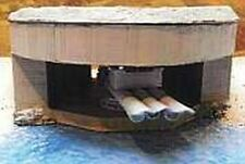 MGM 070-19 1/72 Resin WWII German Bunker with Three Torpedo Tubes-Harbor Defense