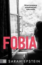 Fobia - Epstein Sarah  -  POLISH BOOK - POLSKA KSIĄŻKA