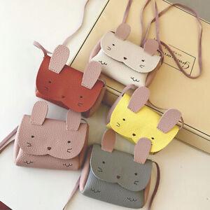 Fashion Baby Girl Bunny Shoulder Bag Cute Animal Storage Crossbody Messenger _UK