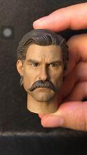 Custom Made 1/6 Scale Deputy Town Marshal Head Sculpt hot toys Cult King body