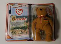 Beanie Babies McDonalds 2000 International Bears II Spangle Osito Germania